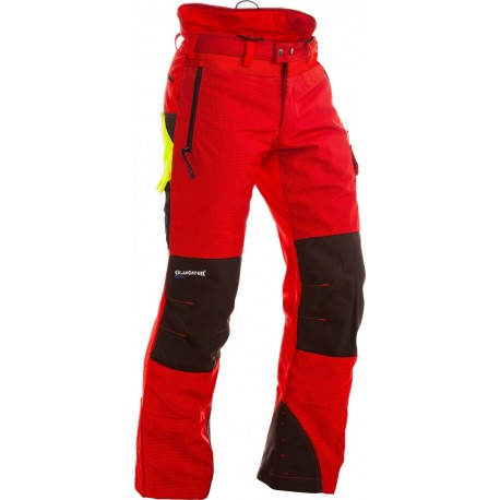 Pantalon anti-coupures ventilé